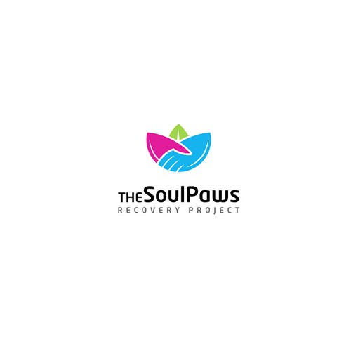 Lotus logo with the title 'The SoulPaws'