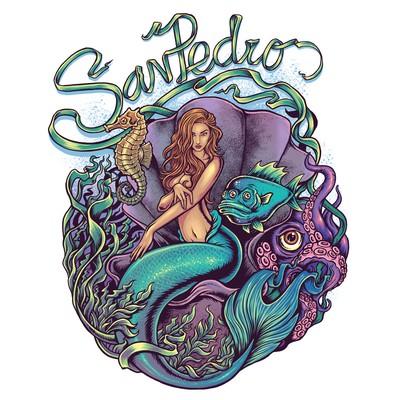 San Pedro Mermaid