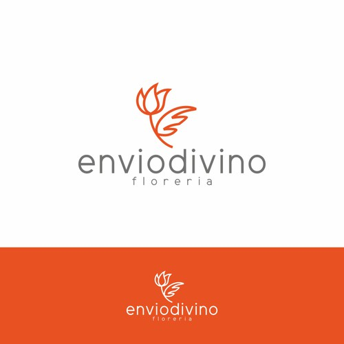 Delivery brand with the title 'enviodivino'