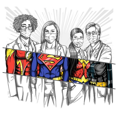 Doctors Superheroes