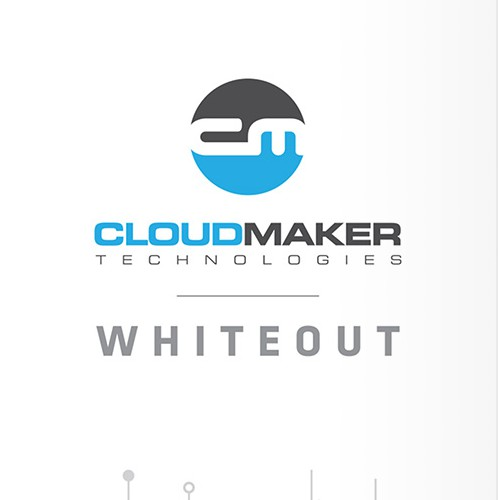 Blue packaging with the title 'Cloudmaker - Whiteout Packaging'