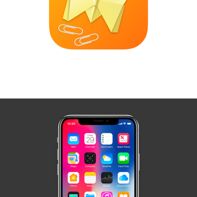 App icon design for Office Origami