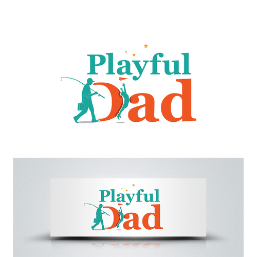 Dad logo with the title 'artistic logo'