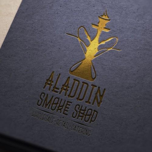 Smoking logo with the title 'smoke'