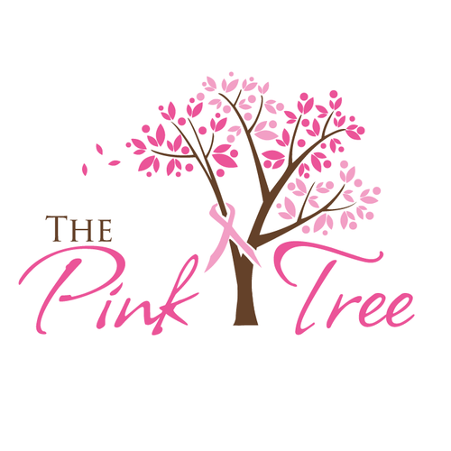 Black and pink logo with the title 'cancer support tree'