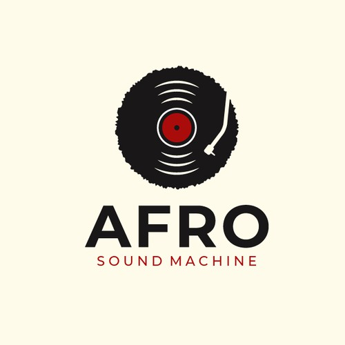 African American logo with the title 'Logo for an African record label'