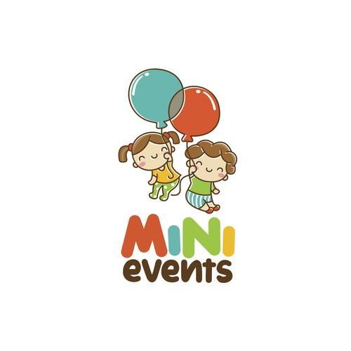 Kawaii logo with the title 'Mini Events'