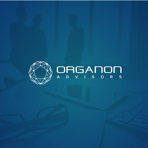 Antivirus logo with the title 'Organon Advisors'