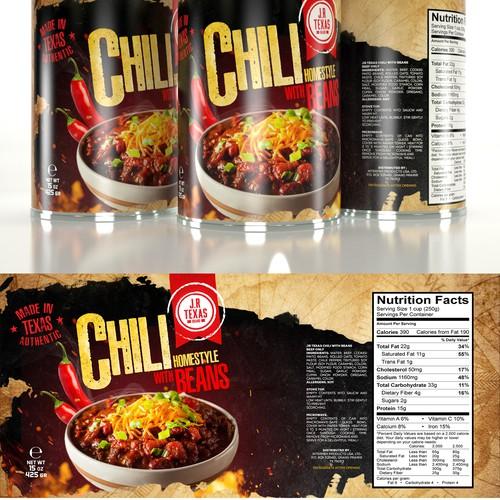 Chili design with the title 'Chili '