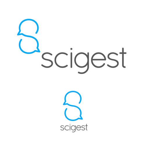 Collaboration logo with the title 'A logo for an online scientific research tool'
