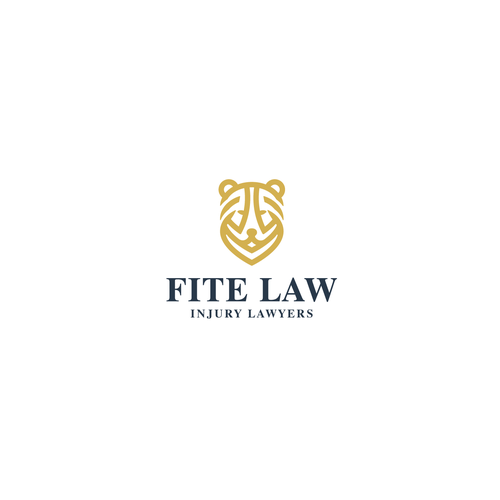 Attorney brand with the title 'logo concept for a law firm'