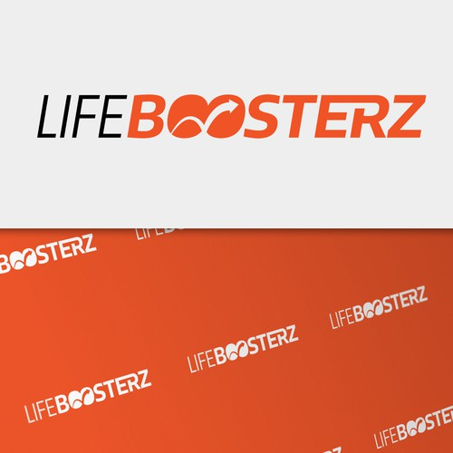 Boost design with the title 'Logotype for e-commerce'