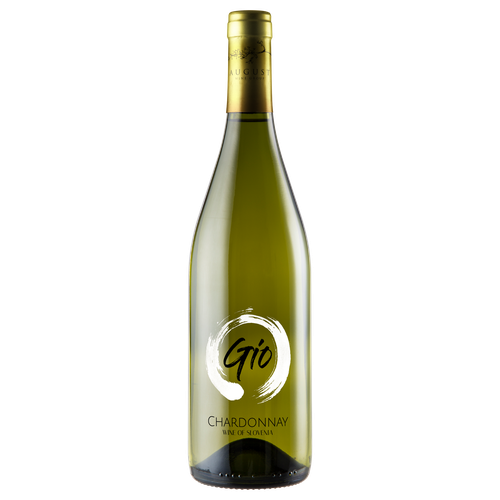 Chardonnay label with the title 'Chardonnay Label Bottle Design For Winemaker'