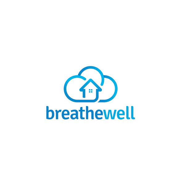 Environmental design with the title 'Breathe Well'