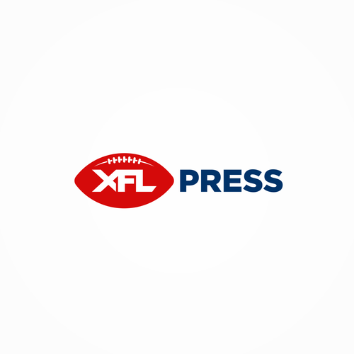 Football logo with the title 'XFL Press'
