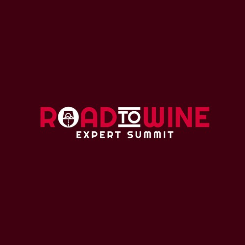 Summit design with the title 'Wine Event Logo'