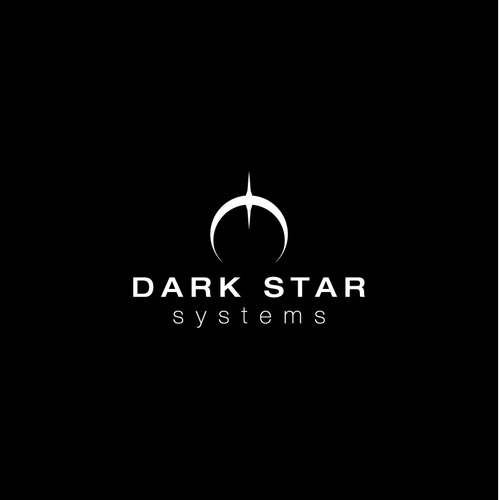 Lunar design with the title 'Logo for Dark Star Systems'