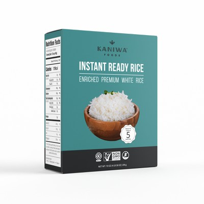 Packaging Design for an instant ready rice