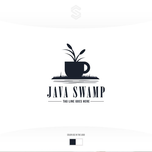 Grass logo with the title 'Java Swamp'