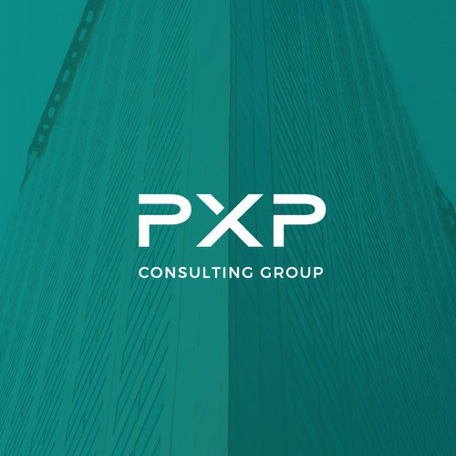 Business design with the title 'Consulting Logo'