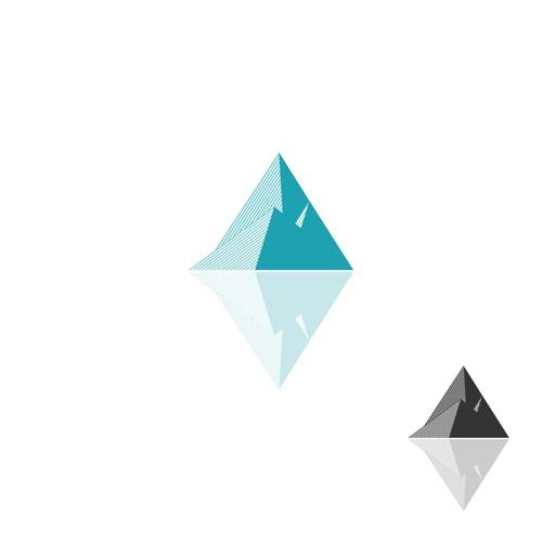 Pyramid logo with the title 'Iceberg'