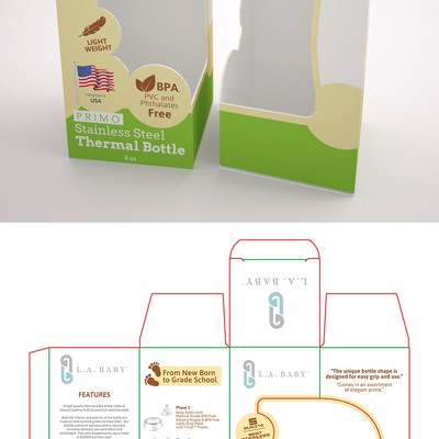 Product Packaging for LA Baby