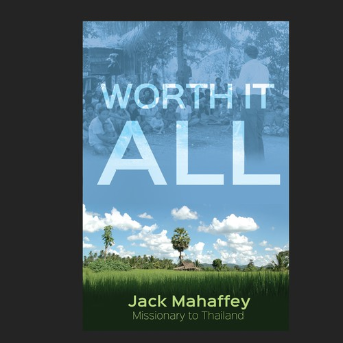 Thai design with the title 'Worth It All Book Cover'