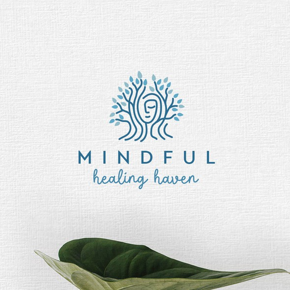 Autism logo with the title 'Mindful healing Heaven '
