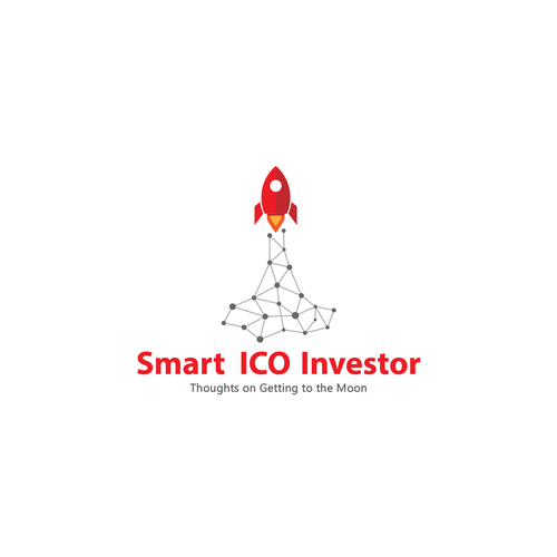 ICO design with the title 'Modern abstract logo for ico investor'