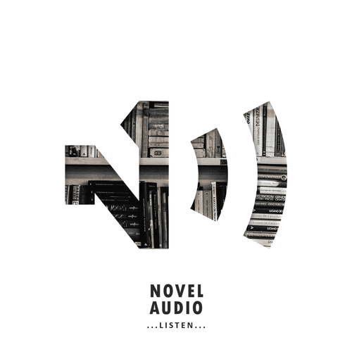 Radio logo with the title 'Concept for audiobooks radio'