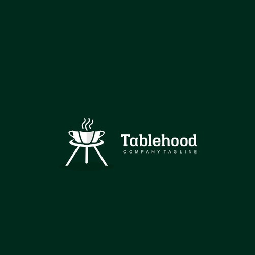 Photoshop design with the title 'Logo for Table hood'