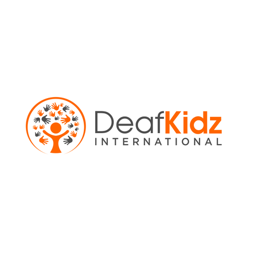 International logo with the title 'DeafKidz International'
