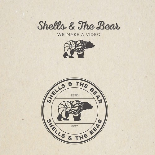 Shell logo with the title 'Shells & The Bear'