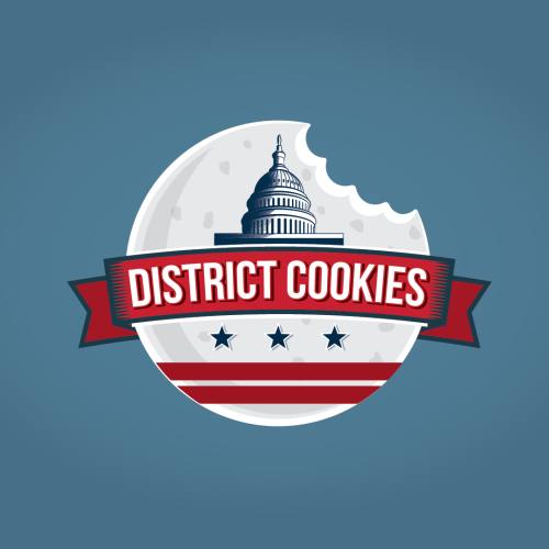 Food design with the title 'New logo wanted for District Cookies'
