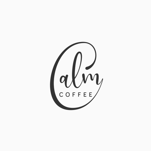 Calm logo with the title 'Calm Coffee'