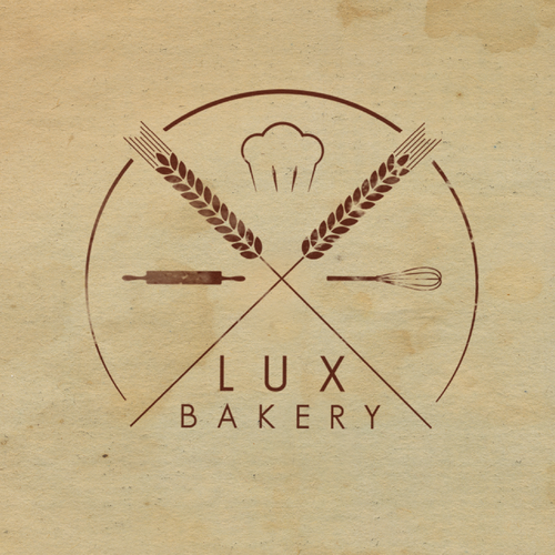 Subtle logo with the title 'A bakery with class'