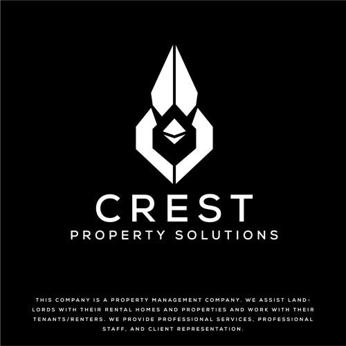Cardinal design with the title 'Crest Property Solutions'