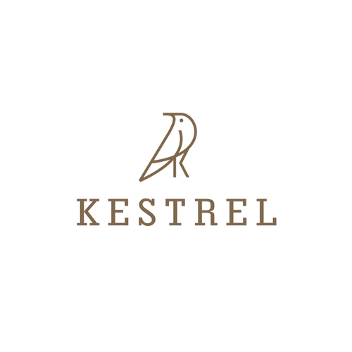 Design with the title 'kestrel'
