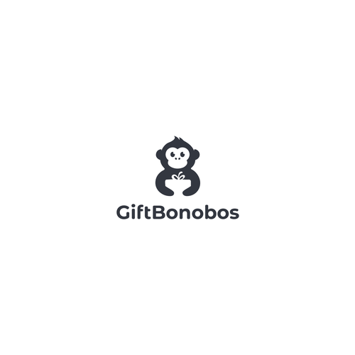 Ape logo with the title 'Gift Bonobos'