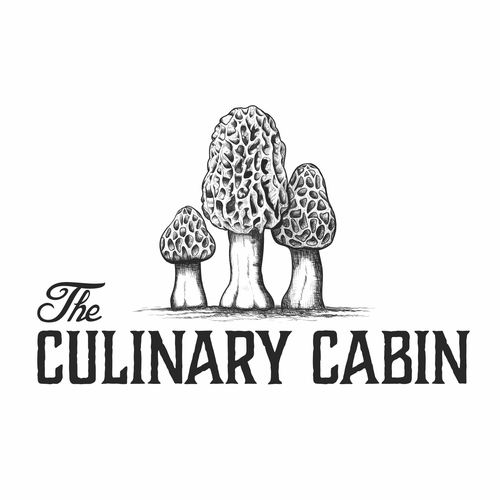 Truffle logo with the title 'The Culinary Cabin'