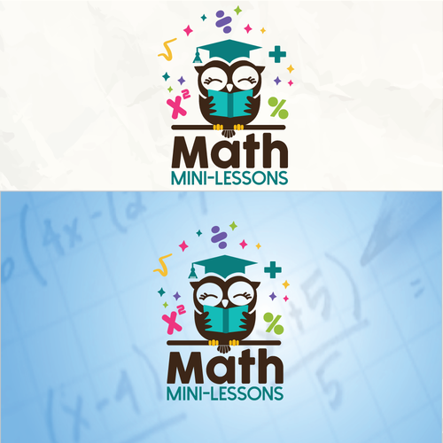 Mathematics logo with the title 'Smart Owl'