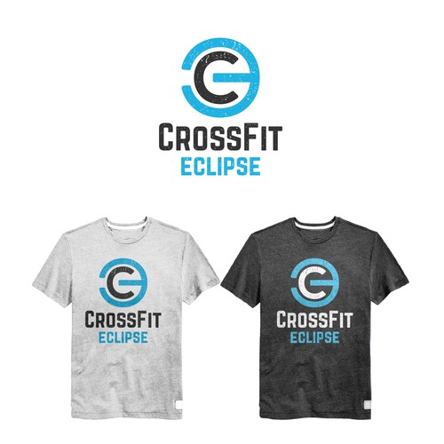 CrossFit t-shirt with the title 'CrossFit Eclipse T-shirt design'