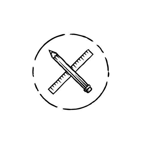 Architecture logo with the title 'Omar Hamdy Architect Logo'
