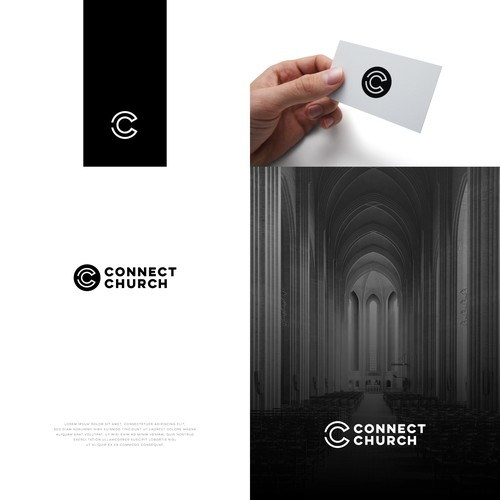 C design with the title 'Connect Church'