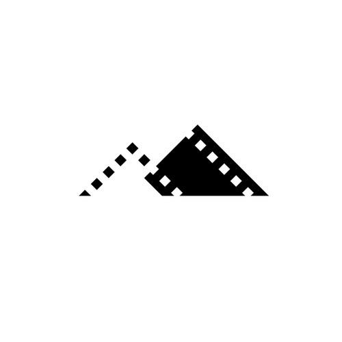 Cinema design with the title 'Mountain Film Logo'