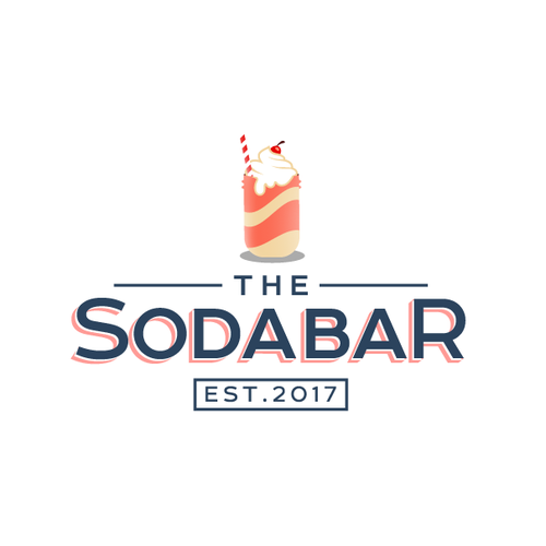Soda logo with the title 'Soda Bar'