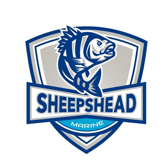 Marine design with the title 'Sheepshead Marine'