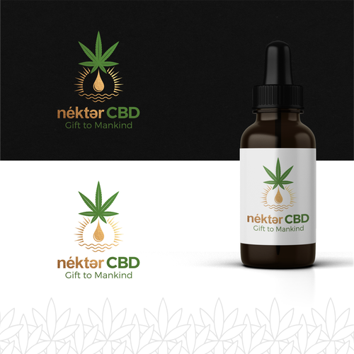 Oil brand with the title 'Design a CBD Product logo and brand'