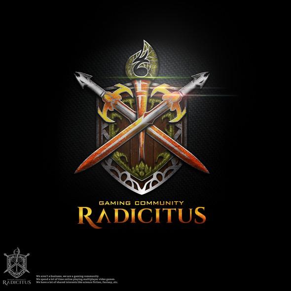 Staff design with the title 'Radicitus'