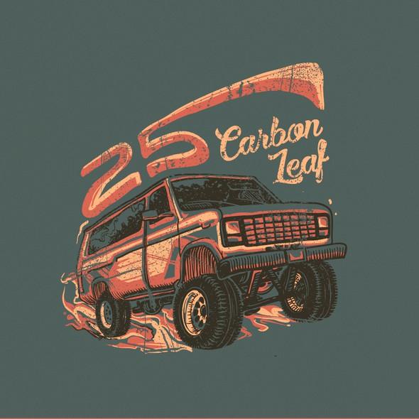 Camper van design with the title 'Offroad van design'